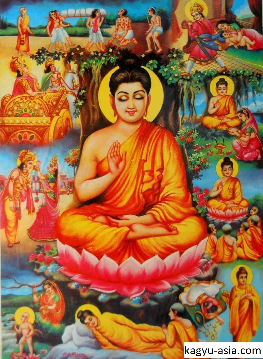 Biografi Pendiri dan Penyebar Agama Buddha, Siddharta Gautama