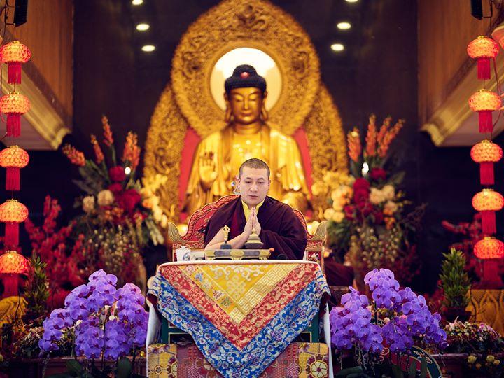Institut Buddha Internasional Karmapa (KIBI) Cabang Bukti Nyata Karma Kagyu Di India